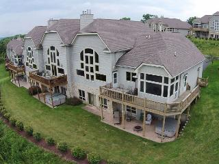 Stunning 3 Bedroom Townhome boasts extrordinary panoramic lake views! - McHenry vacation rentals