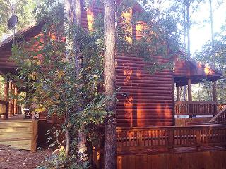 Hilltop Castle Wood - Broken Bow vacation rentals