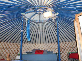 Nice Yurt with Swing Set and Parking - Bourg-et-Comin vacation rentals