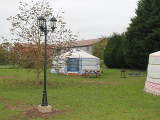 Cozy 3 bedroom Yurt in Bourg-et-Comin - Bourg-et-Comin vacation rentals