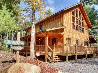SECLUDED MTN VIEW, POOL TABLE, AIR HOCKEY, FIRE PIT, SCREENED PORCH - Epworth vacation rentals