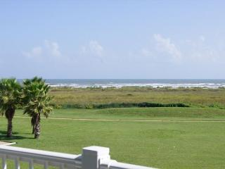 Beachfront Beauty boast gulf views and a few steps away from the Beach Club! - Galveston vacation rentals