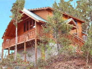Large luxury cabin offering wooded mountain views - Gatlinburg vacation rentals