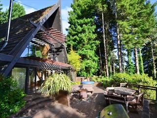 Westgate-Japanese A-Frame - Ocean Views, Hot Tub, Large Deck, Privacy - Orick vacation rentals