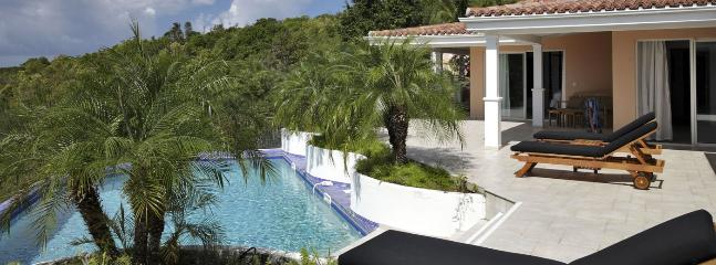 SPECIAL OFFER: St. Martin Villa 411 Nestled On A Hillside In The Heart Of The Exclusive Enclave Of Terres Basses, Offering Open  - Terres Basses vacation rentals
