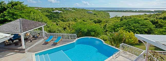 SPECIAL OFFER: St. Martin Villa 392 Panoramic Views From The Large Pool And Terrace Area And A Gazebo With Outdoor Living Area. - Terres Basses vacation rentals