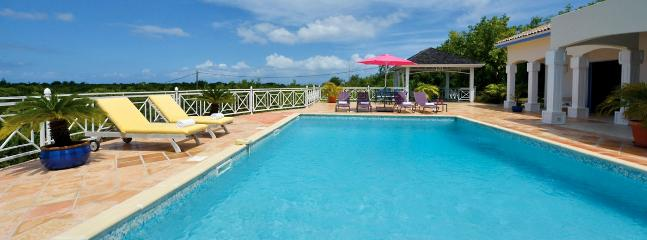 Villa Oceane SPECIAL OFFER: St. Martin Villa 405 An Extensive Terrace And A Large Pool With Built-in Table At The Shallow End, P - Terres Basses vacation rentals