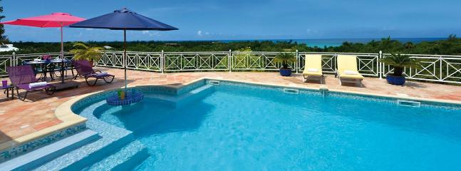 Villa Oceane SPECIAL OFFER: St. Martin Villa 406 An Extensive Terrace And A Large Pool With Built-in Table At The Shallow End, P - Saint Martin-Sint Maarten vacation rentals
