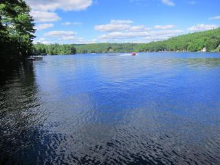Secluded, Lakeside, Split-log Cottage with Fireplace, Rowboat - Weare vacation rentals