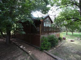 Cabin out Hwy 290 East - Peach Guest Cabin - Fredericksburg vacation rentals