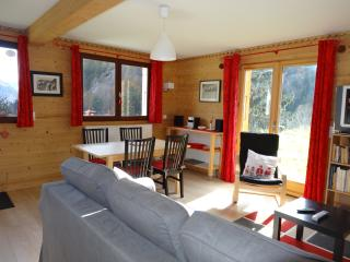 45 m2 en rdj privatif dans les Aravis - La Giettaz vacation rentals