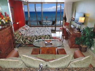 Mahana Luxury Oceanfront King Studio - Enjoy Stunning Sunsets On Your Lanai! - Lahaina vacation rentals