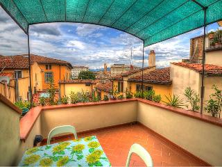 San Frediano Terrace / Beautiful one bedroom apartment with terrace in Santo Spirito - Florence vacation rentals