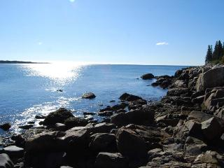 Oceanfront Home w/crashing surf in Schoodic/Acadia - Corea vacation rentals