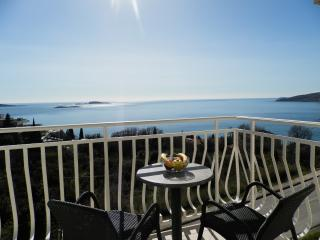 Villa Samba - One-Bedroom Apartment with Balcony and Sea View Aprt. 8 (2+2) - Plat vacation rentals