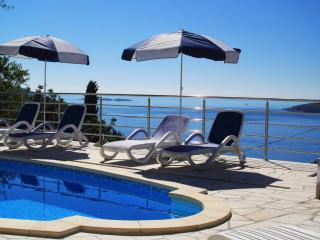 Holiday Home Ivan - Five-Bedroom Holiday Home with Balcony and Sea View - Orasac vacation rentals