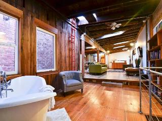 Old Town Eureka's Only Modern Loft! Crafted with Salvaged Redwood - Inspiring - Eureka vacation rentals
