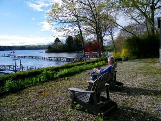 FAIRVIEW | BOOTHBAY MAINE | SALT WATER RIVER | DOCK & FLOAT | SLEEPS SIX - Wiscasset vacation rentals