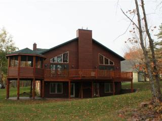 Located at Base of Powderhorn Mtn in the Western Upper Peninsula, Large Trailside Home with Multpile Hot Tubs & Grand Room Facing the Slopes - Bessemer vacation rentals