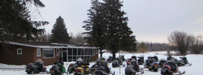 Snowmobile Friendly - Cabin 11 Family Reunion Cabin Large Fishing Group - Blackduck - rentals