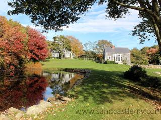 1199 - Beautiful Main House and Barn with a Pool and views over a Pond - Chilmark vacation rentals