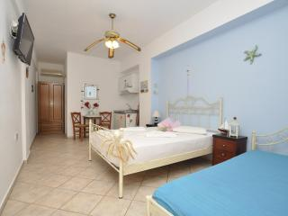 Triple studio with kitchen are located (100) Meters from the Sandy beach. - Siros vacation rentals