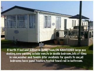 Kingfisher Park, Ingoldmells, Skegness 8 berth - Skegness vacation rentals