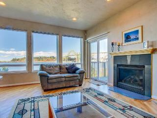 Walk to Oregon Coast Aquarium from this modern, dog-friendly, oceanview home! - Newport vacation rentals