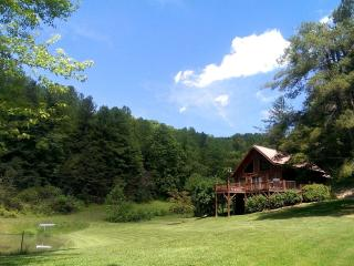 Pond Cove Cabin- On 100 Acres With Breathtaking Panoramic Mountain Views! Private Pond-Float & Fish - Leicester vacation rentals