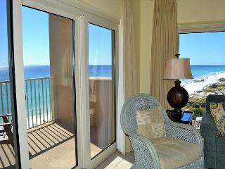 Sip morning coffee on your 2 private beachfront balconies - no roads to cross - Miramar Beach vacation rentals