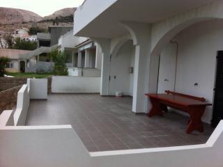 2 Rooms + big terrace + sea view - Metajna vacation rentals
