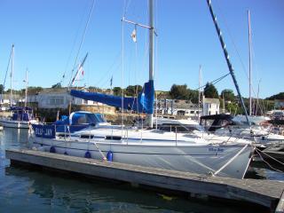 Yacht sleeps six Mylor Cornwall nr Falmouth - Cornwall vacation rentals
