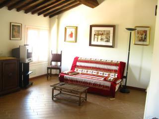 Wonderful flat overlooking the Tuscan countryside - Lammari vacation rentals