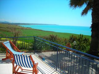 Villa at Portopalo di menfi with garden n sea view - Porto Palo vacation rentals
