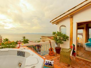 Romantic Downtown Ocean View Jr. Suite | Corazón 1 - Puerto Vallarta vacation rentals
