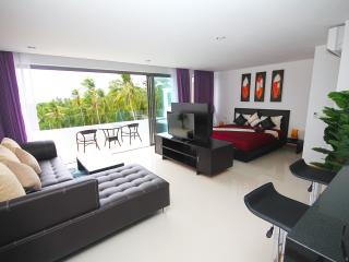Luxury 1 bedroom apartment with jacuzzi sea view - Lamai Beach vacation rentals