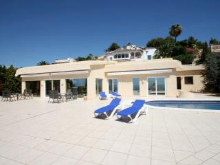 Bellavista - fantastic sea view villa in Moraira - Benissa vacation rentals