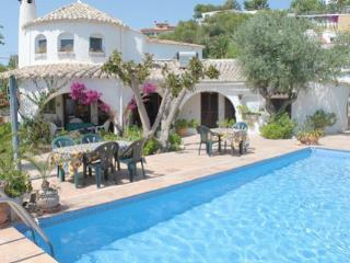La Paloma - pretty holiday property with garden and private pool in Baladrar - Benissa vacation rentals