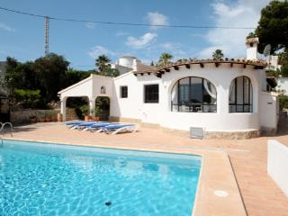 Laurel - beautiful little house in pretty grounds with lovely views in Moraira - Moraira vacation rentals
