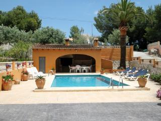 Mariros - pretty holiday property with garden and private pool in Moraira - Moraira vacation rentals