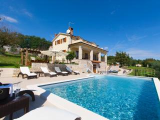 Lounge by the pool and enjoy an amazing view from this stunning villa - Sveta Katarina vacation rentals