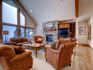ASPEN VIEW: 3 Bed/3.5 Bath Executive Home, 2 Car Garage, W/D, King Beds, Private Hot Tub-Sleeps 7 - Silverthorne vacation rentals