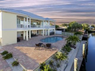 Brand New 5 BR Executive Canal Home with Private Pool and dock -  Sandy Getaway - Fort Myers Beach vacation rentals