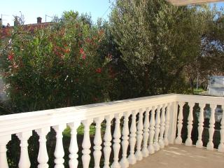Villa Bruna apartment with balcony and garden view - Island Rab vacation rentals