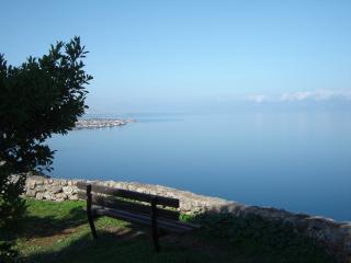 private villa, spetacular sea view at Trapeza - Aiyion vacation rentals