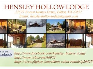 HENSLEY HOLLOW LODGE - Elkton vacation rentals