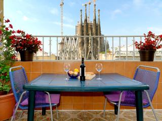 Spectacular views of the Sagrada Familia - Barcelona vacation rentals
