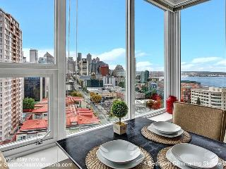 1 Bedroom Glimmering Skyline and Water View Oasis - Seattle vacation rentals