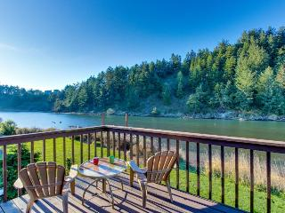 Dog-friendly riverside cottage with backyard firepit & kayak launch! - Pacific City vacation rentals