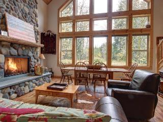 Pet-friendly riverfront rental with two acres and a hot tub! - Rhododendron vacation rentals